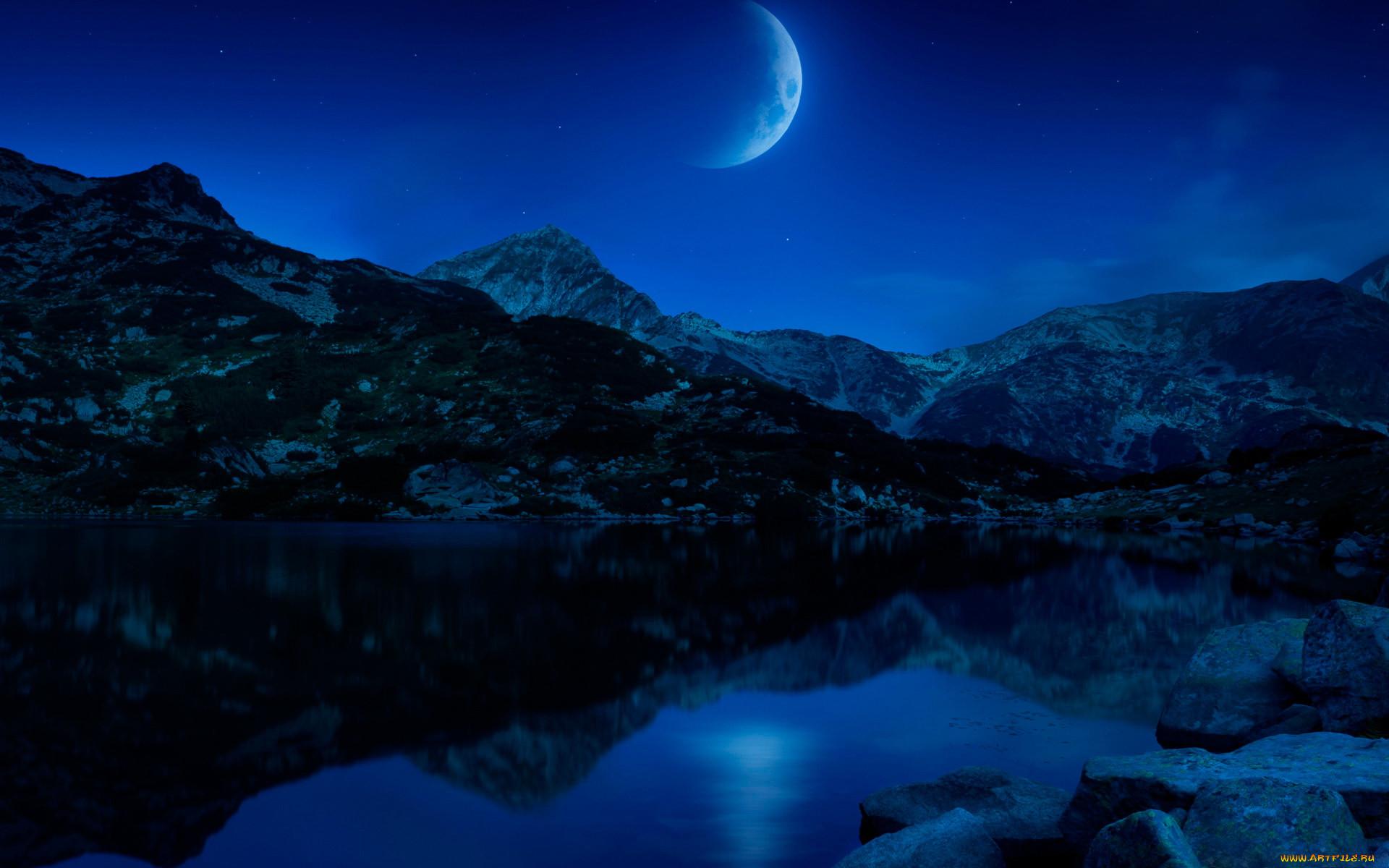 Картинки для телефона природа ночью